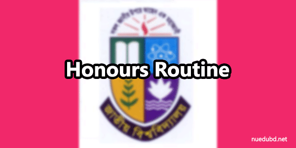 NU Honours 1st Year Routine 2016