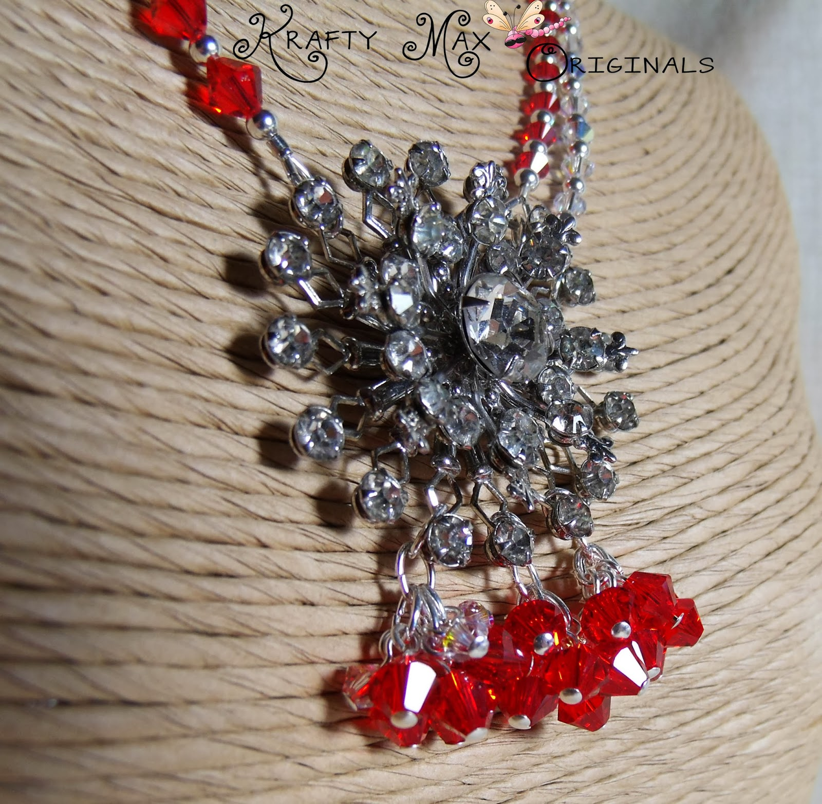http://www.artfire.com/ext/shop/product_view/KraftyMax/4583522/Red_and_Swarovski_Crystal_StarBURST_Necklace_Set/Jewelry/Sets/Crystal
