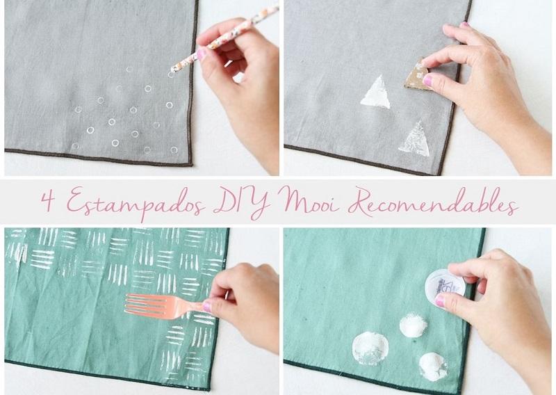 4 estampados DIY para personalizar textiles
