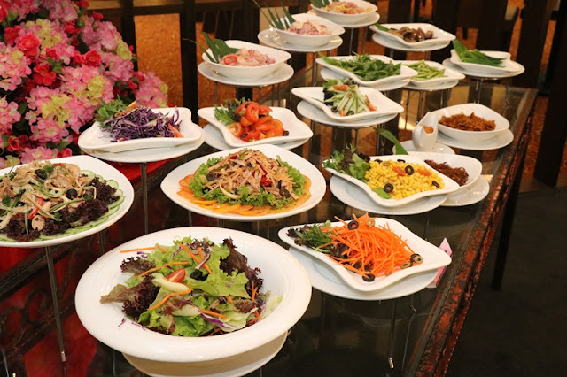 Varieties of Western and Malaysian Salad