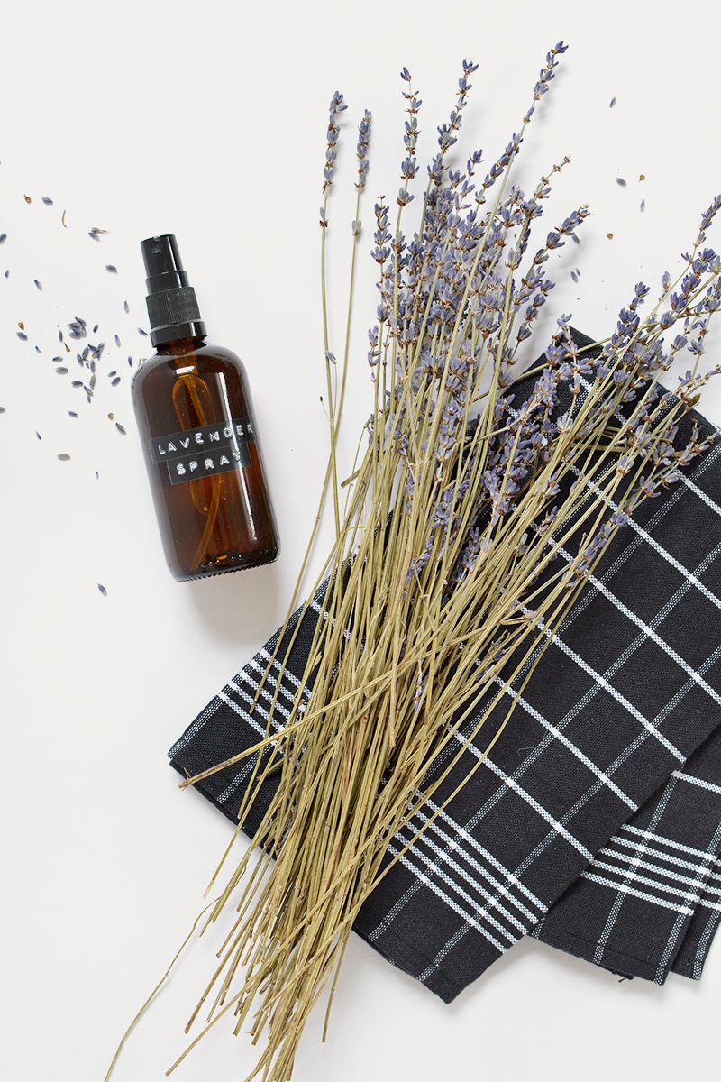 how to make lavender spray