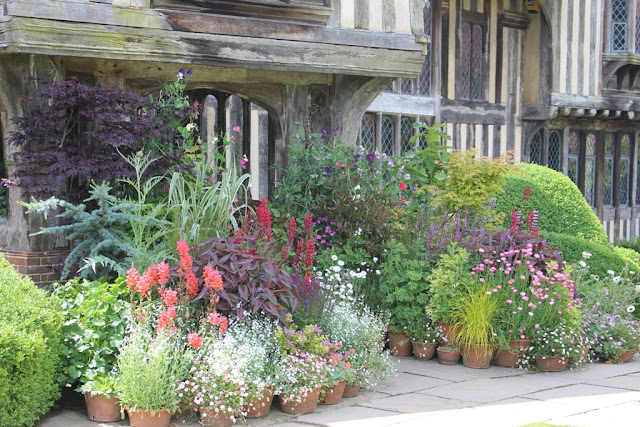 Colourful pots galore