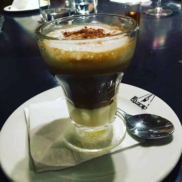 ... with café Asiático, Yummy!