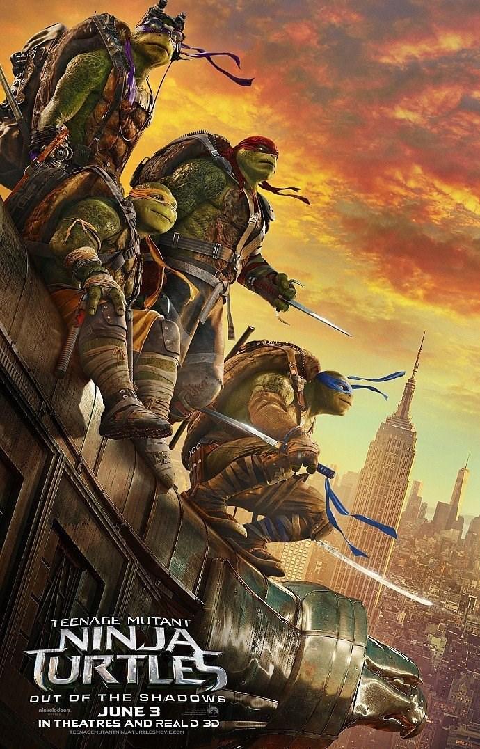 Teenage Mutant Ninja Turtles: Out of the Shadows 2016 - Full (CAM)