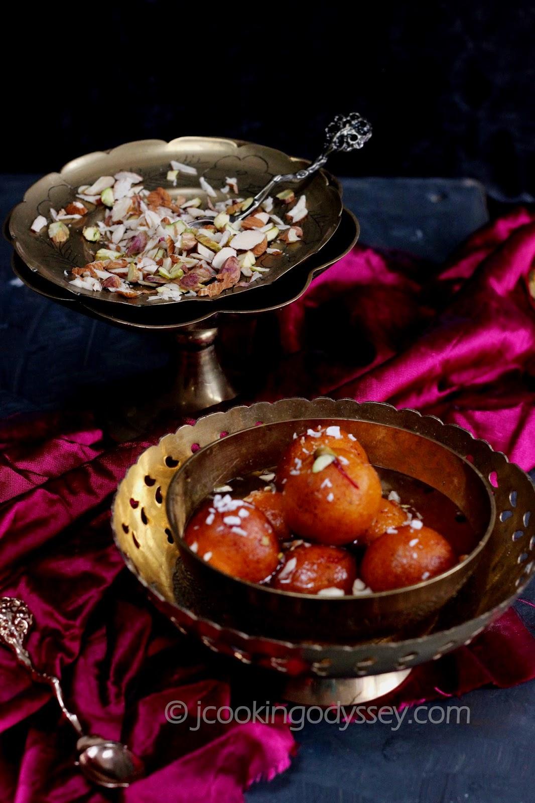 how to make pink paneer jamun