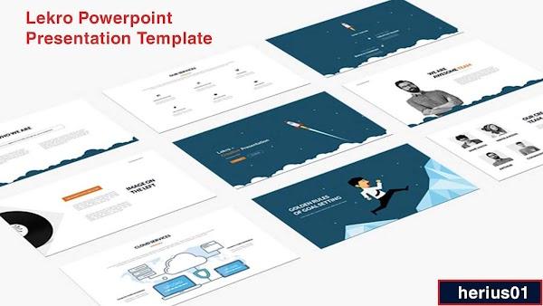 Tải template PowerPoint - Lekro Powerpoint Presentation Template - herius01
