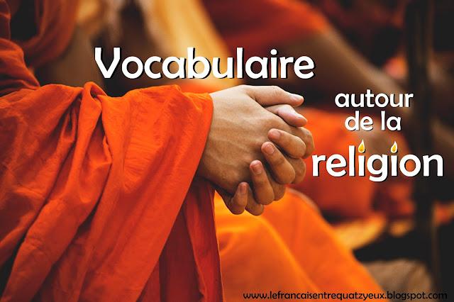 vocabulaire autour de la religion