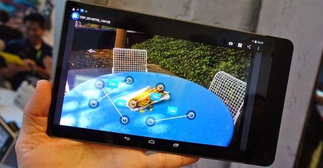 Dell sẽ trang bị camera 3D cho thiết bị Windows và Android trong năm 2015