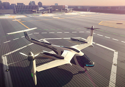 Tinuku Uber partnered with NASA to develop flying taxi