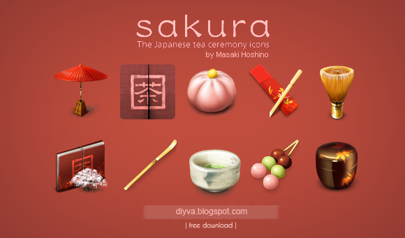 sakura, icons, free, download, gratis