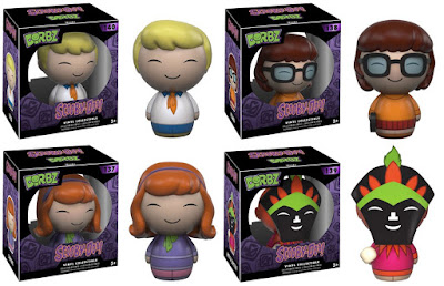 Scooby-Doo Dorbz Series 2 Vinyl Figures by Funko - Fred, Velma, Daphne & Witch Doctor