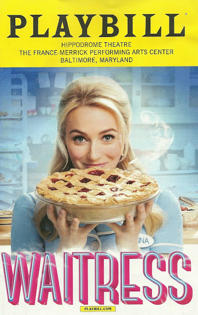 Waitress National Tour Playbill