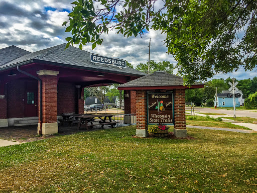 Reedsburg Depot on the 400 State Trail