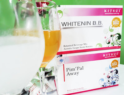 Kitsui Whitenin B.B. dan Kitsui Pim'pal Away Review