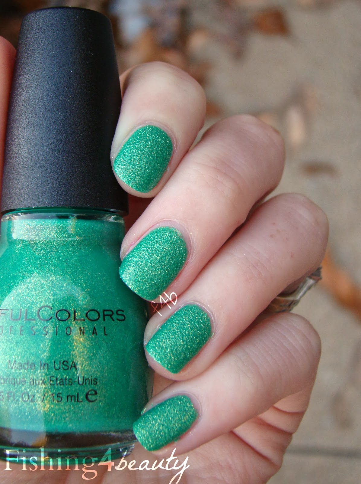 Fishing4beauty Sinfulcolors Crystal Crushes Emerald Envy