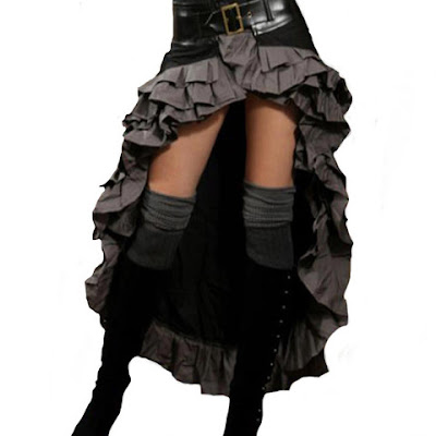 buy steampunk couture vex skirt steamgirl kato womens clothing