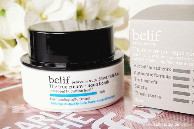 The True Cream Moisturizing Bomb by belif #15