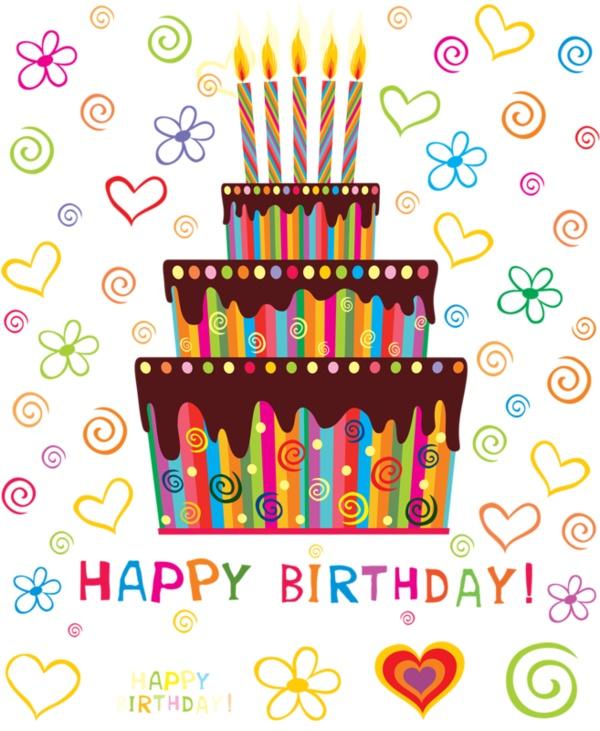 Happy Birthday - Tartas para felicitar el Cumpleaños en Inglés - ツ