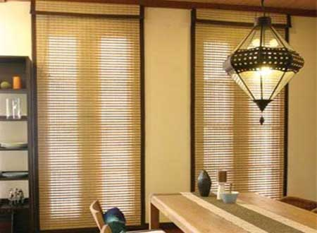wood blinds minimalis