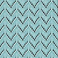 Eyelet Lace 83: Chevron | Knitting Stitch Patterns.