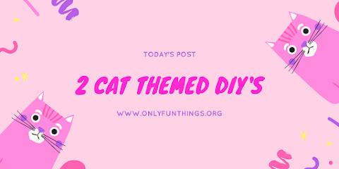 2 Kawaii Cat Themed DIYs - How to Make Kawaii Cat Bucket and DIY Cat Ears!