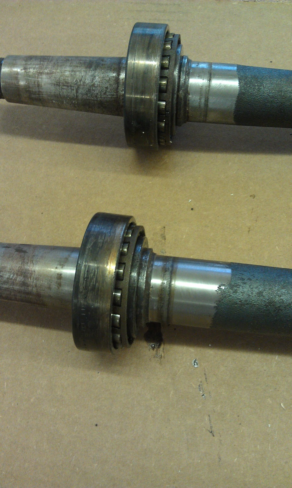 Jeep Cj5 Restoration Rear Axle