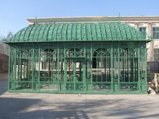 Large Garden Green House Or Conservatory Cast Iron Construction English Style 50 03134 J1closed 6  96721.1408542966.451.416