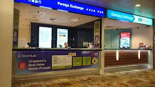 Nơi bán sim ở sân bay Changi