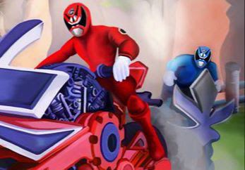 Power Rangers Power Ride game