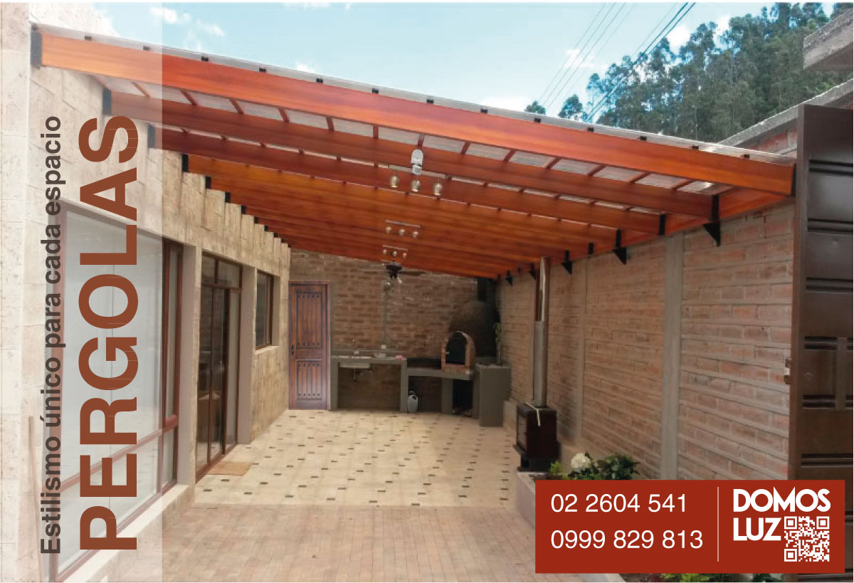 Techos cubiertas policarbonato ecuador for Casas de pvc para jardin