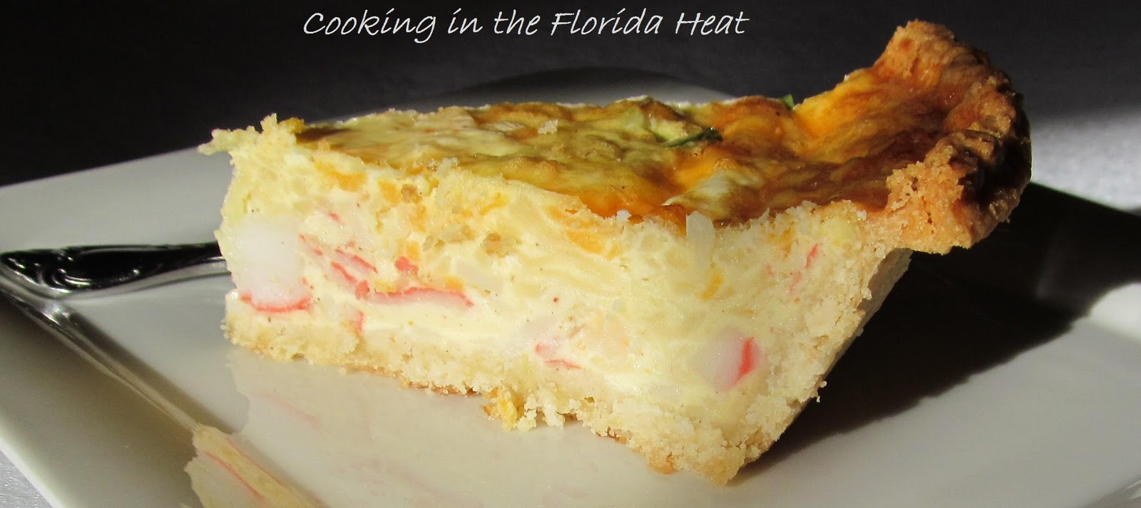 Cooking in the Florida Heat: Seafood Quiche