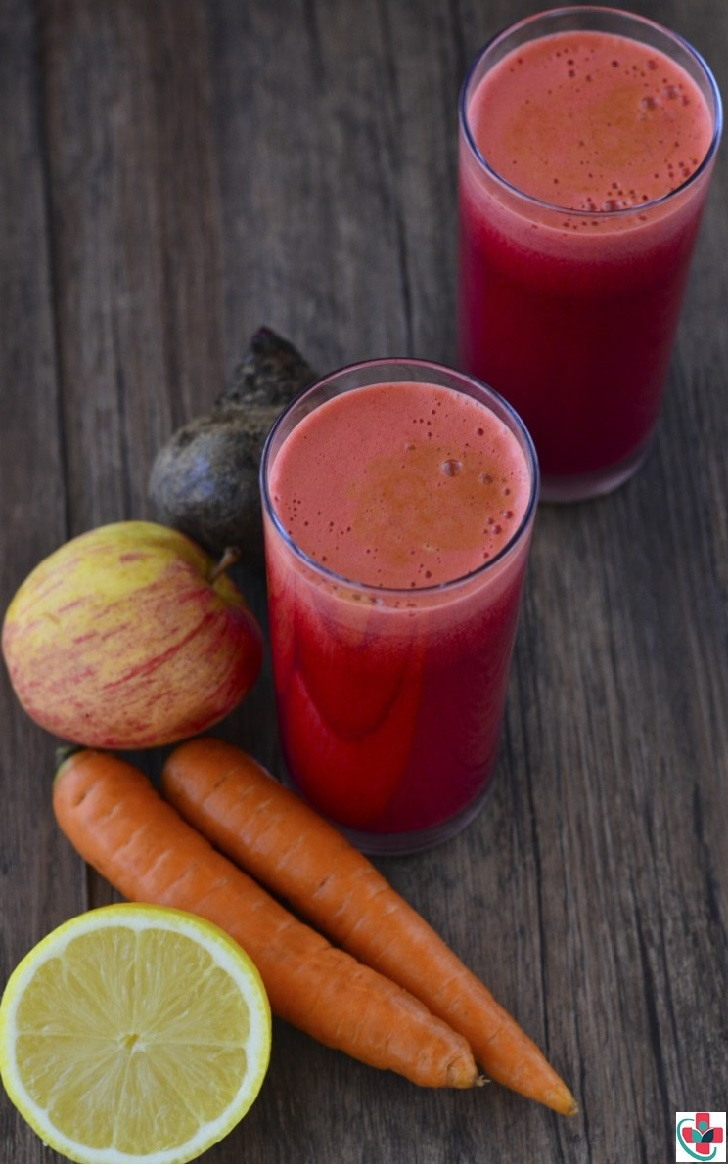 CARROT, APPLE, LEMON, AND BEET JUICE RECIPE