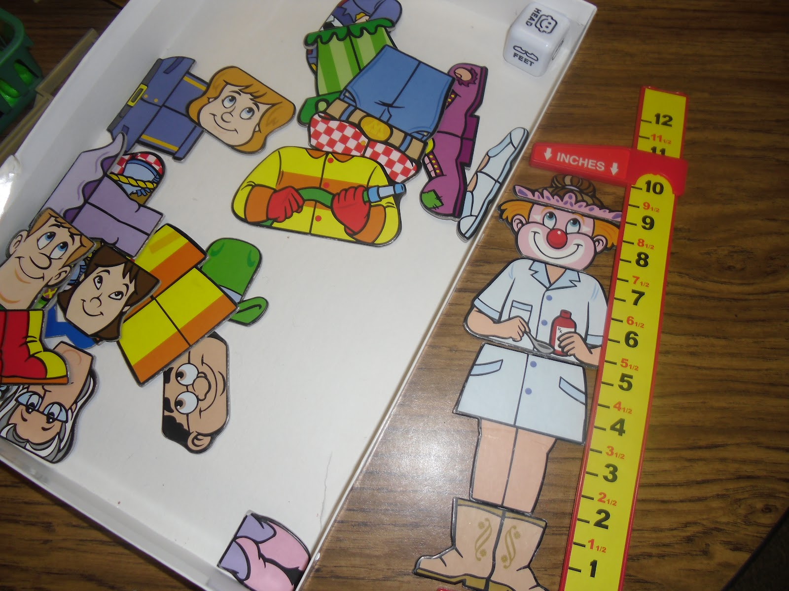 Patties Classroom Measurement Centers