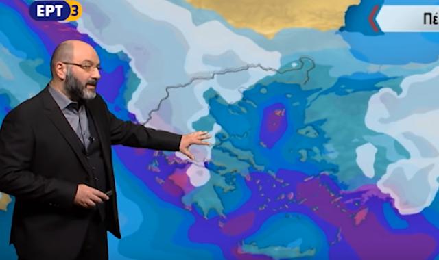 Αρναούτογλου: Η θερμοκρασία σε πτώση... (βίντεο)