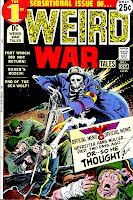 Weird War Tales v1 #1 dc bronze age comic book cover art by Joe Kubert