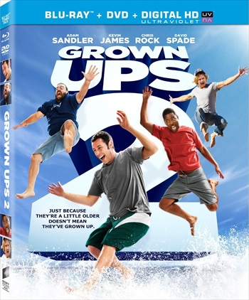 Grown Ups 2 (2013) Hindi Dubbed Bluray Download