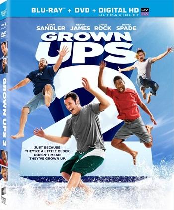 Grown Ups 2 (2013) Hindi Dubbed Bluray Download