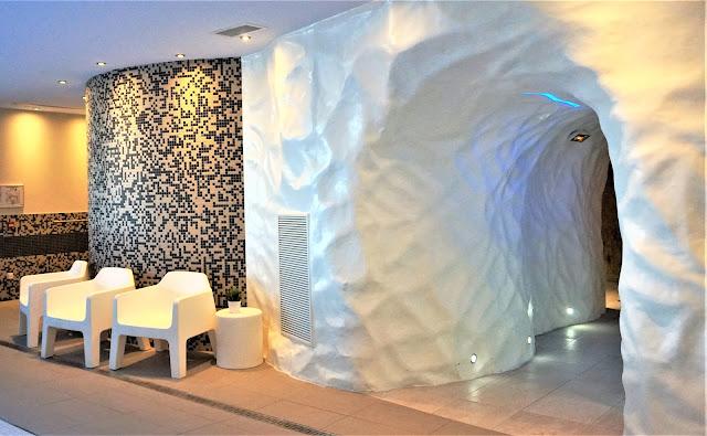 Au Vital SPA, l'univers du hammam et l'univers nordique du sauna