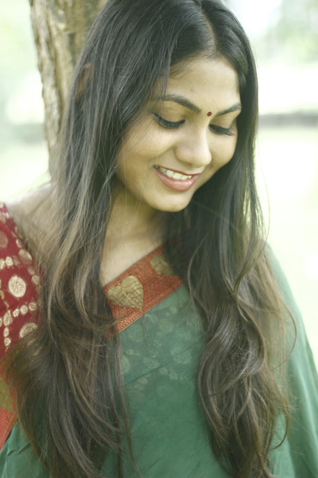 Shruti Reddy latest photos in half saree-HQ-Photo-20