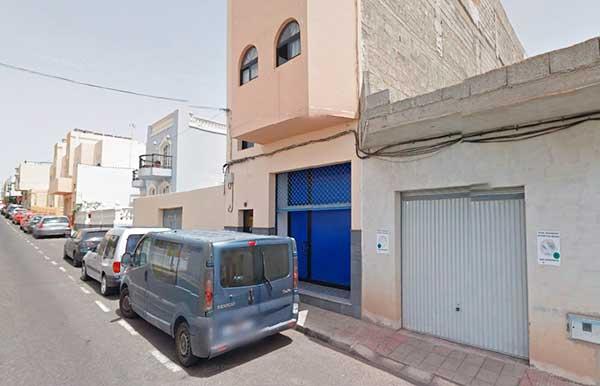 Calle Don Quijote, Puerto del Rosario, Fuerteventura, donde un tío acabó con la vida de su sobrino