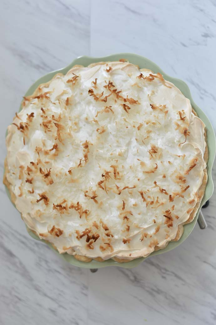 Easy Coconut Cream Pie Recipe @rachmccarthy7