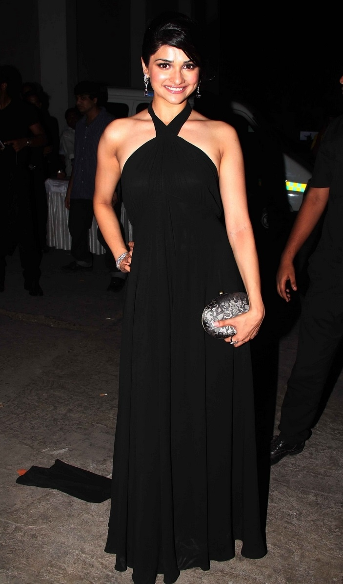 Bollywood Actress Prachi Desai Photos In Black Dress