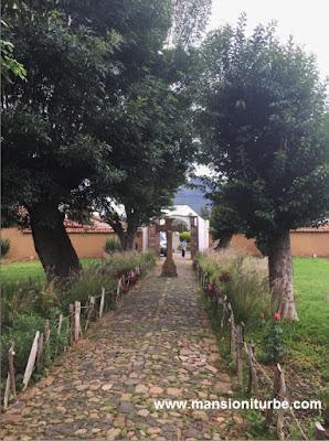 The Temple of Apostle Santiago in Tupataro, Michoacan