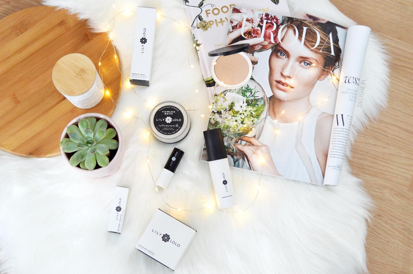 lily lolo kosmetyki do wykończenia makijażu delishe blog