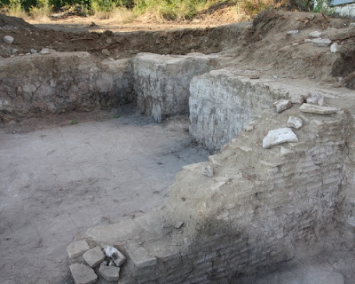 Early Byzantine basilica, baptismal fonts found at Byala fortress