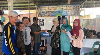 Kemensos RI Berikan Jadup untuk Pengungsi Rohingya di Bireuen