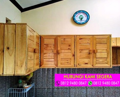 Jasa Pembuatan Kitchen Set Jati Belanda Di Depok 0812 9480 0847