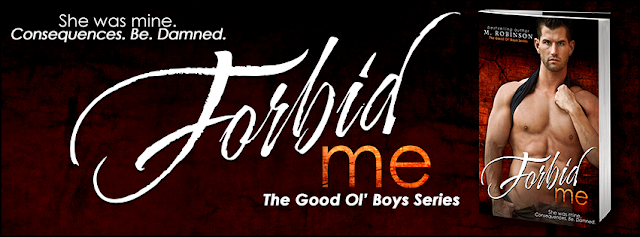 Cover Reveal – Forbid Me by M. Robinson