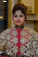 Anya South Actress model in Red Anarkali Dress at Splurge   Divalicious curtain raiser ~ Exclusive Celebrities Galleries 005.JPG