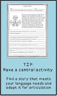 Collect materials on a central theme! Tips from Looks-Like-Language